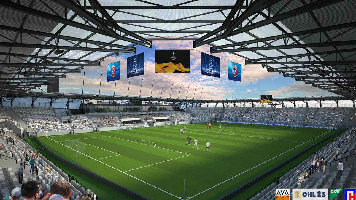 5725d2c70 VIDEO: Štadión chcú postaviť na etapy, stavba sa začala   Televízia ...