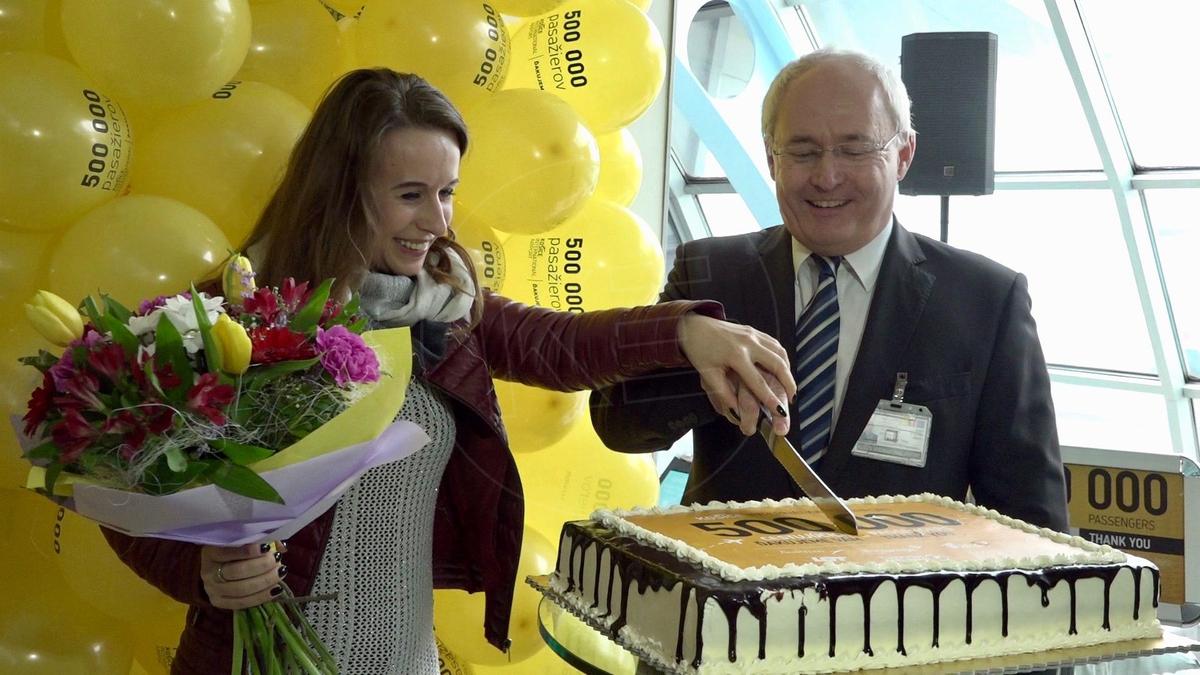 1aad44058 VIDEO: Letisko Košice dnes privítalo 500 000 cestujúceho | Televízia ...