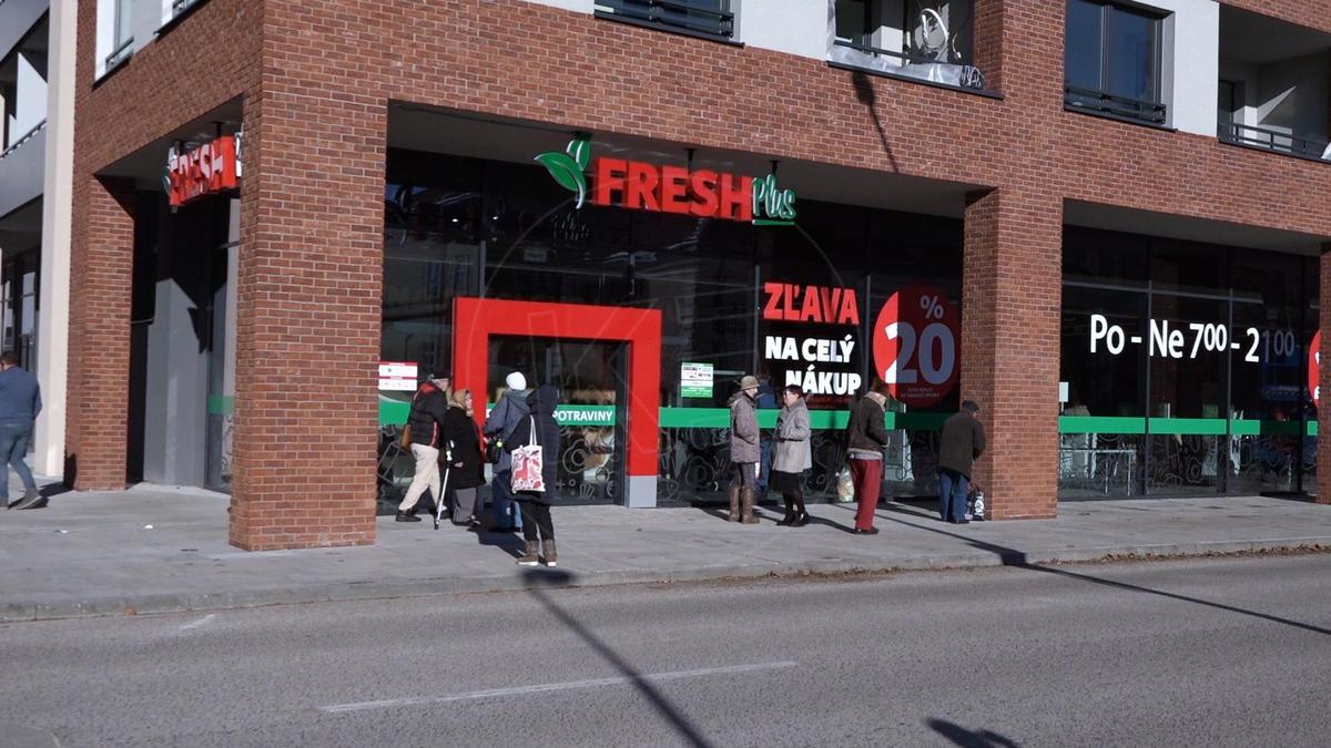 559b5a388 VIDEO: V centre Košíc otvorili nový Supermarket Fresh Plus ...